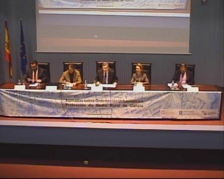 Inauguración das Xornadas - Xornada sobre as instrucións de desenvolvemento da Lei 9/2002, de 30 de decembro, de Ordenación Urbanística e do Medio Rural  de Galicia, na redacción